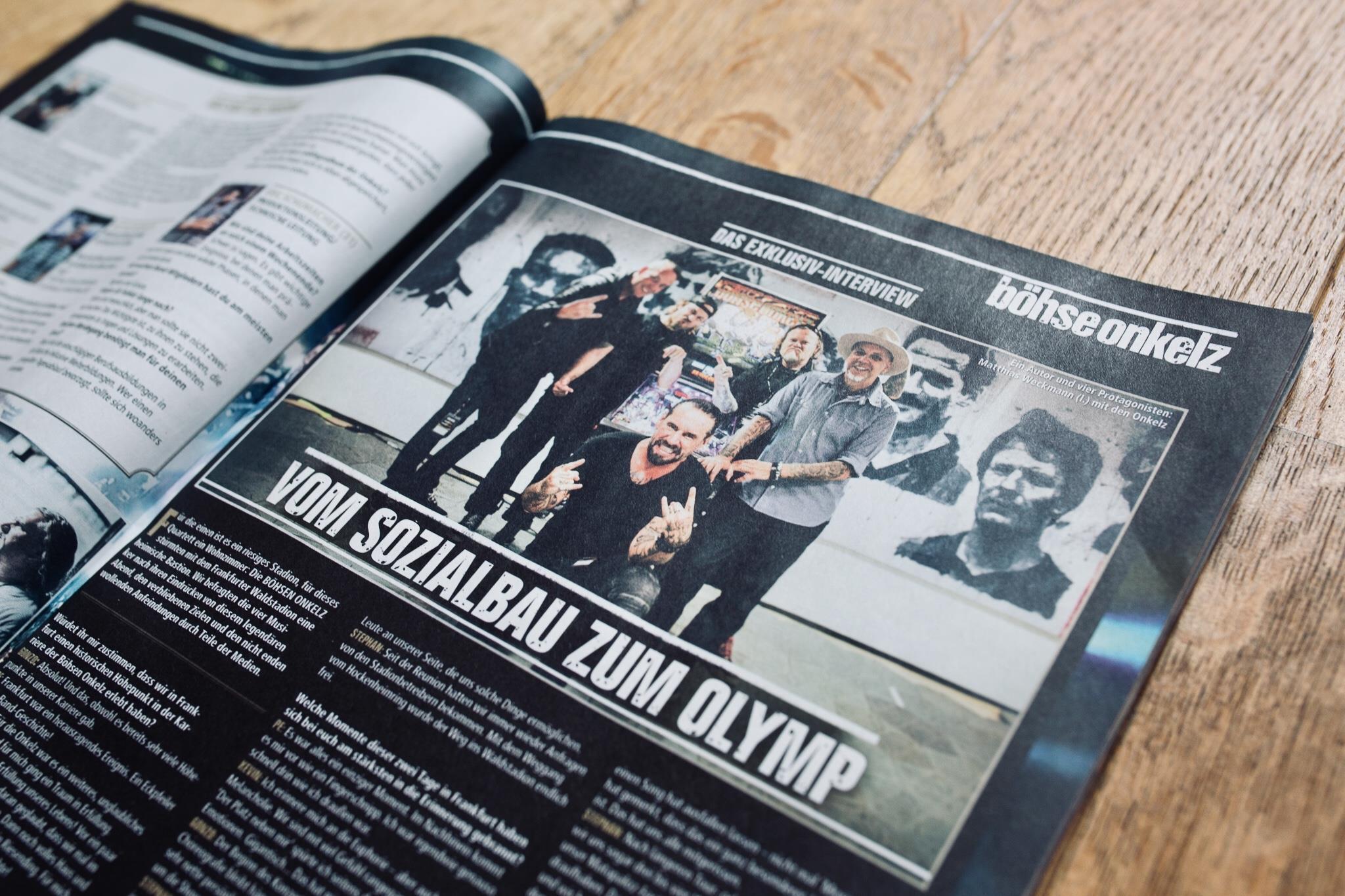 Tobias Stark - Metal Hammer - Böhse Onkelz