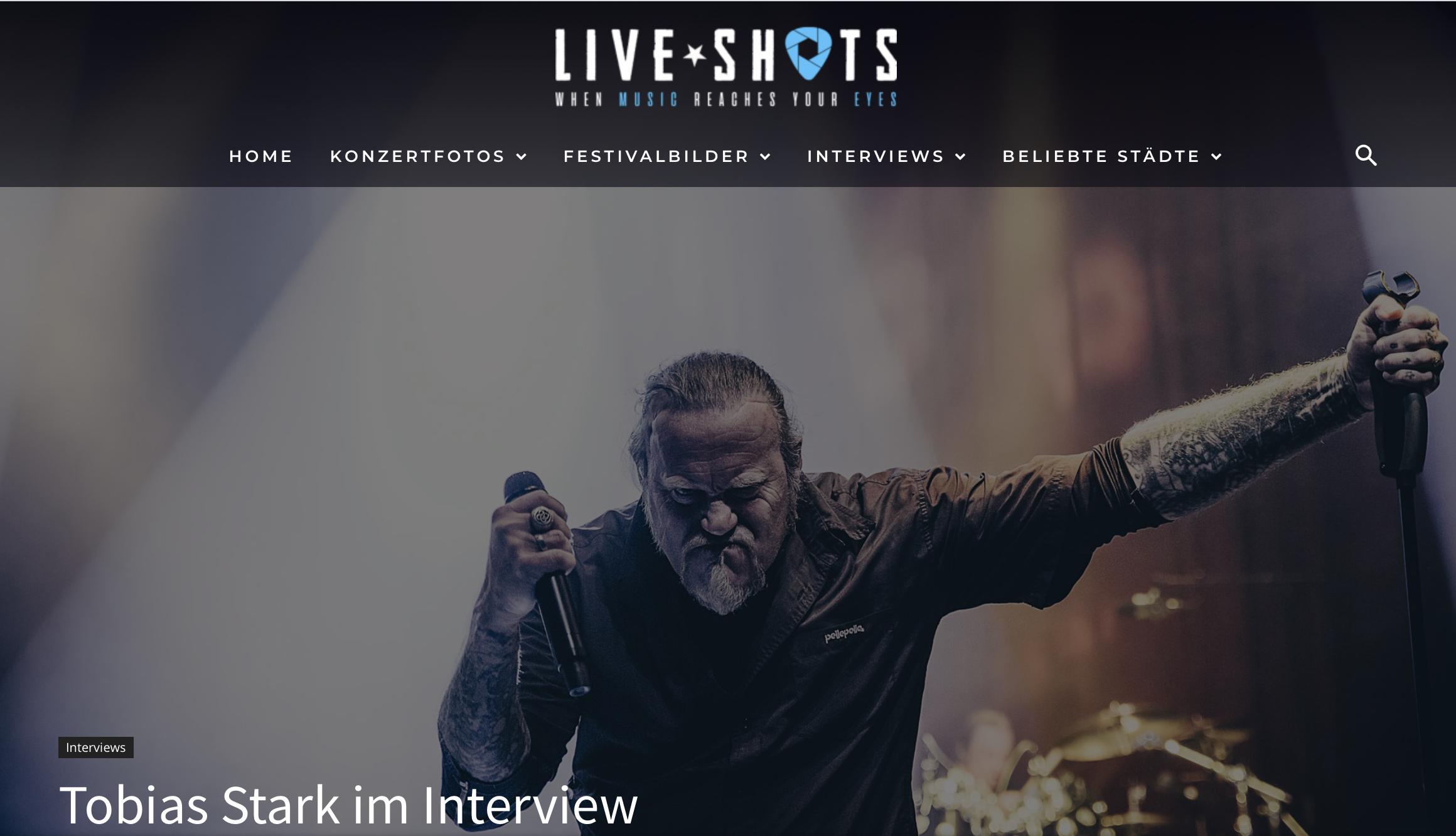 Interview auf Liveshots