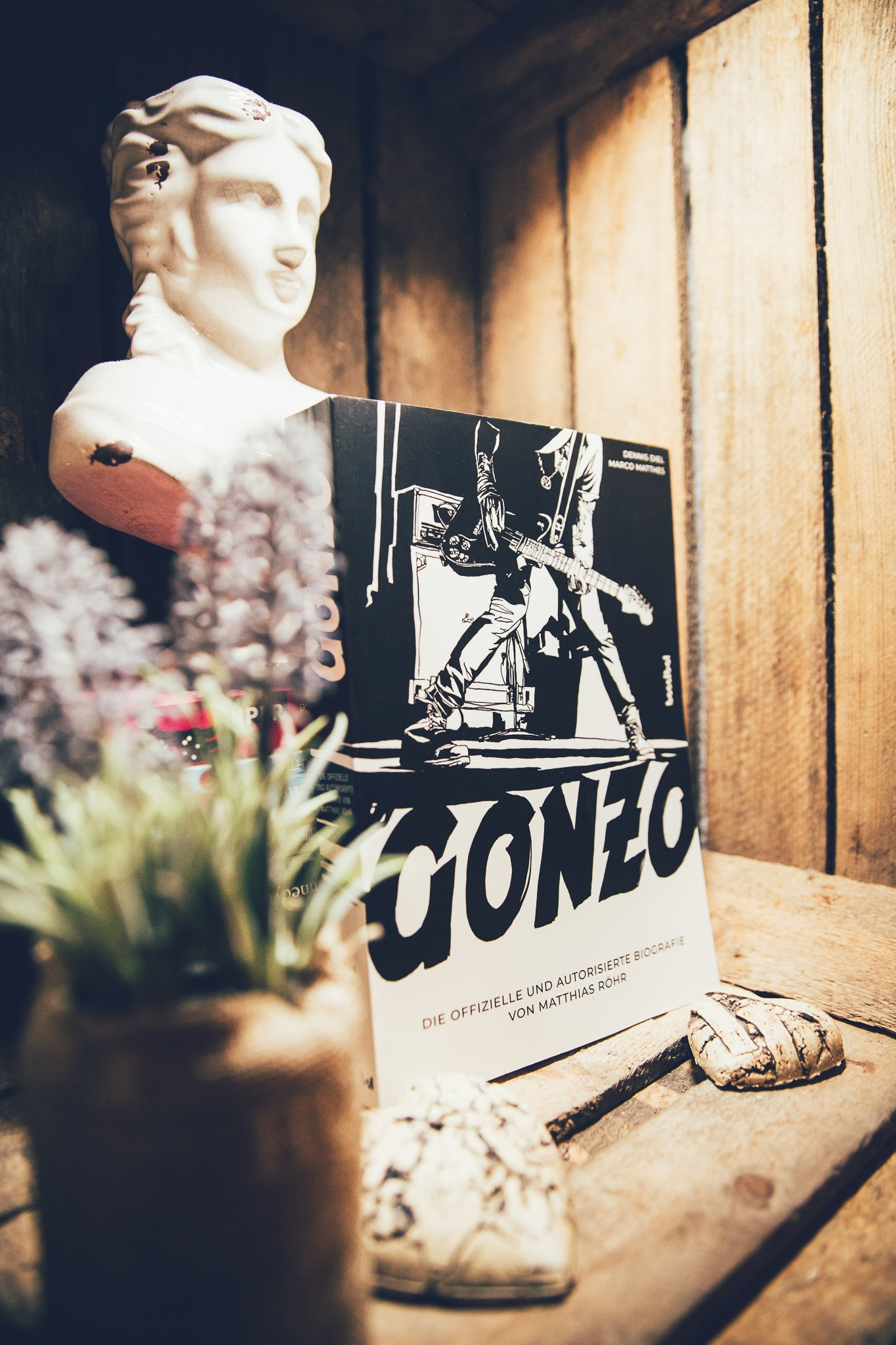 Gonzo, Biografie, Buch, Tobias Stark